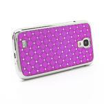 Drahokamové pouzdro pro Samsung Galaxy S4 i9500- růžové - 3/7