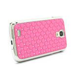 Drahokamové pouzdro pro Samsung Galaxy S4 i9500- světle-růžové - 3/7