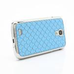 Drahokamové puzdro pro Samsung Galaxy S4 i9500- svetlo-modré - 3/7