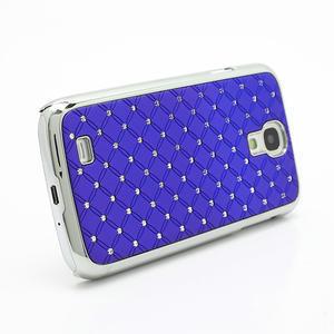 Drahokamové puzdro pro Samsung Galaxy S4 i9500- modré - 3