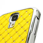 Drahokamové puzdro pro Samsung Galaxy S4 i9500- žlutá - 3/6