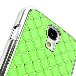 Drahokamové pouzdro pro Samsung Galaxy S4 i9500-zelené - 3