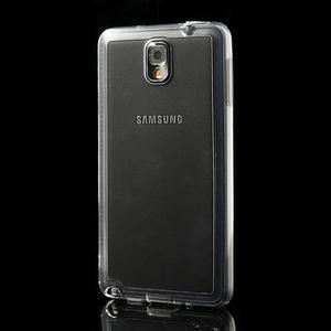 Gélové hybrid puzdro na Samsung Galaxy Note 3- transparentný - 3