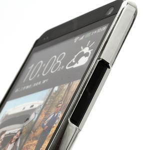 Drahokamové puzdro pre HTC one M7- biele - 3