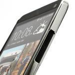 Drahokamové puzdro pre HTC one M7- biele - 3/7