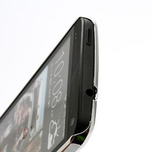 Drahokamové puzdro pre HTC one M7- růžové - 3