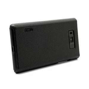 Texturované puzdro pre LG Optimus L7 P700- čierné - 3