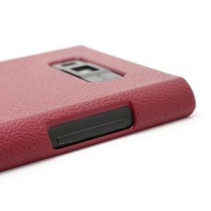 Texturované puzdro pre LG Optimus L7 P700- červené - 3