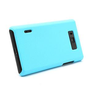 Texturované puzdro pre LG Optimus L7 P700- modré - 3