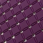 Drahokamové puzdro pre Samsung Trend plus, S duos- fialové - 3/4