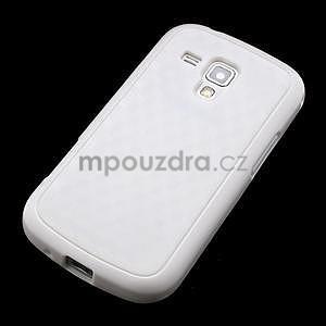 Plastogélové puzdro pre Samsung Galaxy Trend, Duos- biele - 3