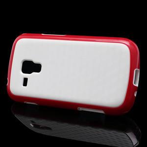 Plastogélové puzdro na Samsung Galaxy Trend, Duos- červené - 3