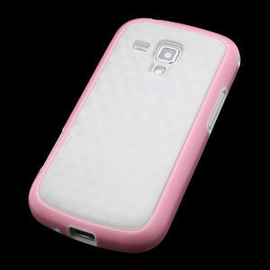 Plastogélové puzdro pre Samsung Galaxy Trend, Duos- ružové - 3