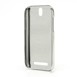 Drahokamové puzdro pre HTC One SV-fialové - 3