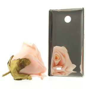 Drahokamové puzdro na Nokia X dual- biele - 3