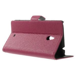 Peňaženkové puzdro pre Nokia Lumia 1320- ružové - 3