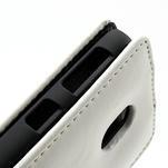 Flipové puzdro na Nokia Lumia 620- biele - 3/5