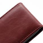Flipové puzdro na Nokia Lumia 620- červené - 3/5