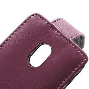 Flipové puzdro na Nokia Lumia 620- růžové - 3