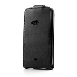 Flipové puzdro pre Nokia Lumia 625- čierné - 3