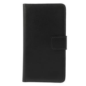 Peňaženkové puzdro na Nokia Lumia 630- čierné - 3