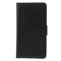 Peňaženkové puzdro na Nokia Lumia 630- čierné - 3/7