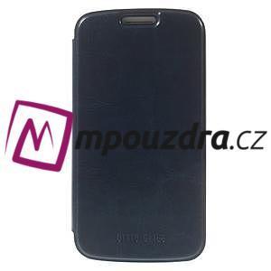 Flipové puzdro na Samsung Galaxy K zoom C115 - modré - 3