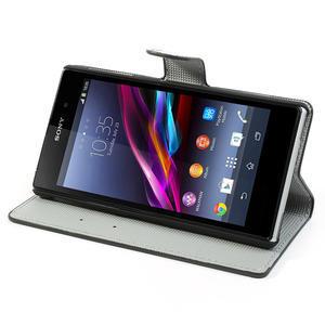 Peněženkové pouzdro na Sony Xperia Z1 C6903 L39- vzorové - 3