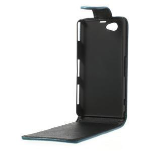 Flipové puzdro na Sony Xperia Z1 Compact D5503- modré - 3