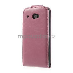 Flipové puzdro pre HTC Desire 601- růžové - 3