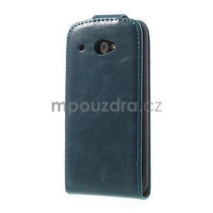 Flipové puzdro pre HTC Desire 601- modré - 3