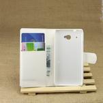 Peňaženkové puzdro pre HTC Desire 601- biele - 3/7