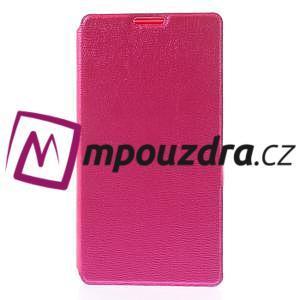 Peňaženkové puzdro na Xiaomi Hongmi Red Rice- růžové - 3