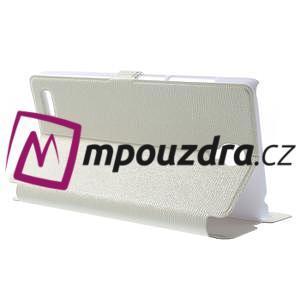 Peňaženkové puzdro pre Xiaomi Hongmi Note- biele - 3