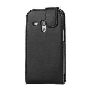 Flipové puzdro pro Samsung Galaxy S3 mini i8190- čierne - 3