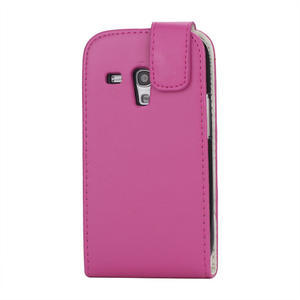 Flipové pouzdro pro Samsung Galaxy S3 mini i8190- růžové - 3