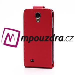 Flipové pouzdro pro Samsung Galaxy S4 i9500- červené - 3