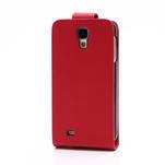 Flipové pouzdro pro Samsung Galaxy S4 i9500- červené - 3/5