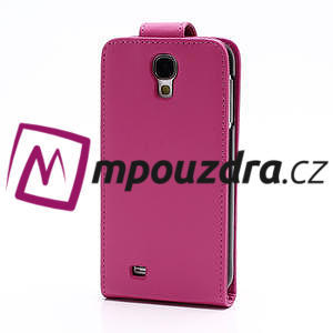 Flipové pouzdro pro Samsung Galaxy S4 i9500- růžové - 3