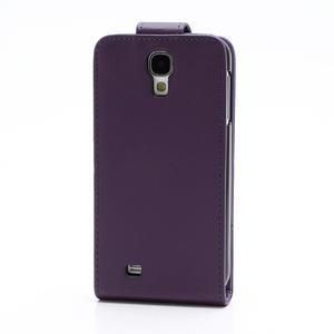 Flipové puzdro pro Samsung Galaxy S4 i9500-fialové - 3