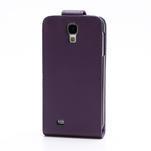 Flipové puzdro pro Samsung Galaxy S4 i9500-fialové - 3/5