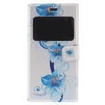 Flipové puzdro na Xiaomi Mi3- modrá lilie - 3/7