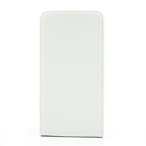 Flipové kožené puzdro na Samsung Galaxy Note 3- biele - 3