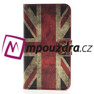 Peňaženkové  puzdro na Samsung  Galaxy Note 3- UK vlajka - 3