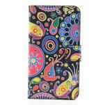 Peňaženkové puzdro na Samsung Galaxy Note 3- vzory - 3/7