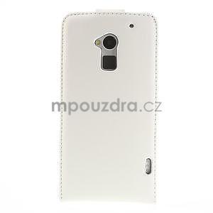 Flipové puzdro HTC one Max- biele - 3