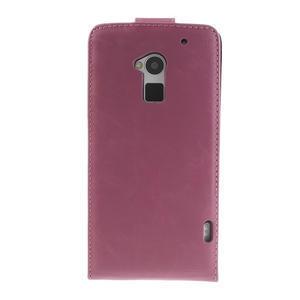 Flipové puzdro HTC one Max- růžové - 3