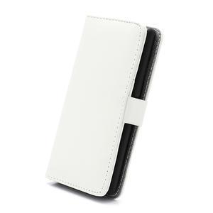 Peňaženkové puzdro na LG Optimus L7 P700 - biele - 3