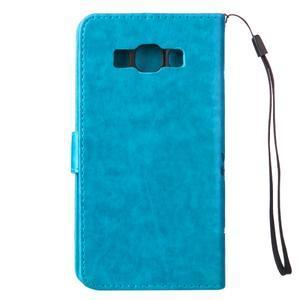 Magicfly PU kožené pouzdro na Samsung Galaxy J5 (2016) - modré - 3