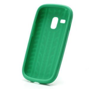 Silikonové PNEU pro Samsung Galaxy S3 mini i8190- zelené - 3